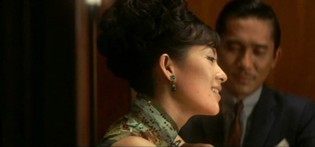 Ziyi Zhang and Tony Leung