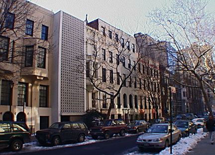 Edward Durell Stone-designed townhouse