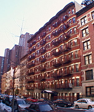 91st Street fire escapes east of Lexington Avenue