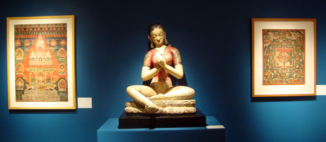 Wood figure of Tara