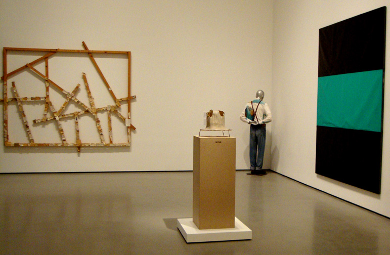 Works by Herold, Kippenberger, and Forg