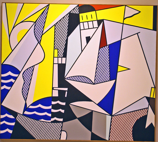 Sailboats by Lichenstein