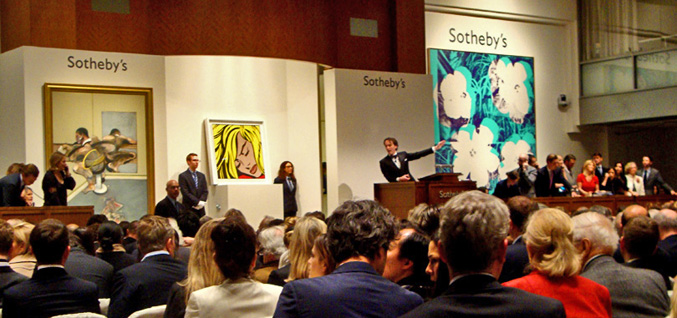 Contemporary Art Evening Auction At Sotheby S New York May