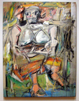 """Woman I"" by de Kooning"