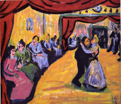 """Dorftanz (Dangast)/Village Dance (Dangast)"" by Heckel"