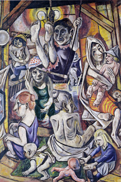 """Frauenbad/Women's Bath"" by Beckmann"