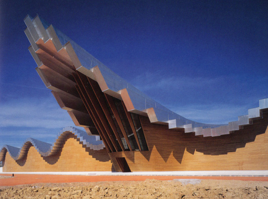 The Ysios Winery in Alava, Spain, by Calatrava