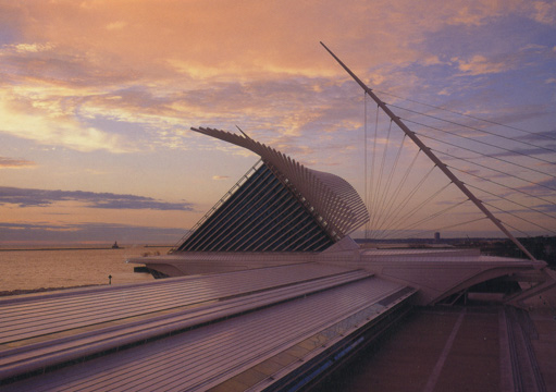 Milwaukee Art Museum by Calatrava
