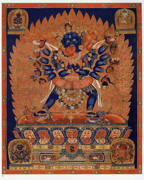 Chinese Ming thanka