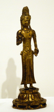 Acouye Ganguin, gilt bronze