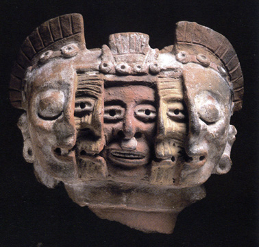Fragment of an anthropomorphic brazier