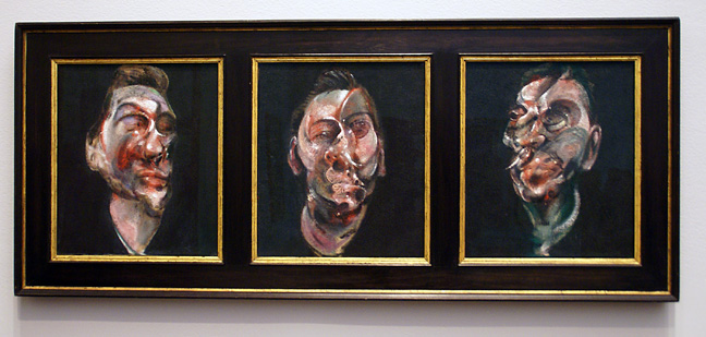 """Three Studies for a Portrait of George Dyer"""