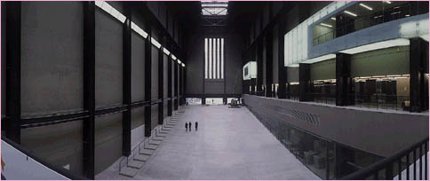 Another view of the great Turbine Hall at Tate Modern