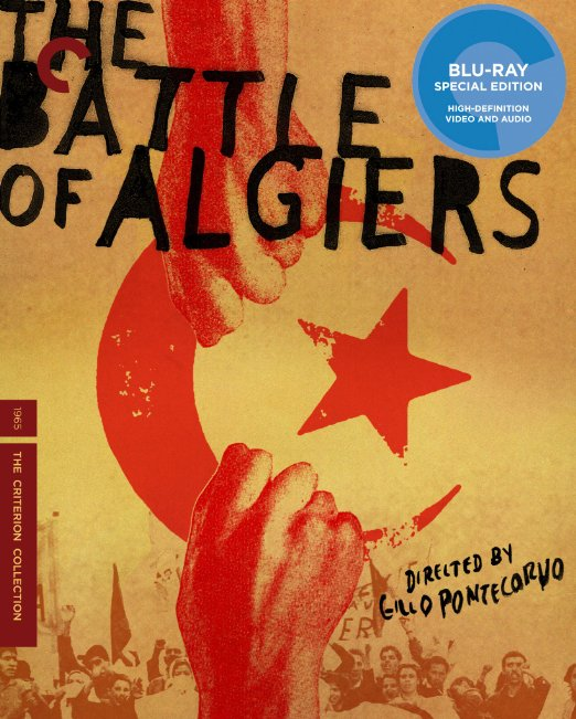Barrle of Algiers blue-ray cover