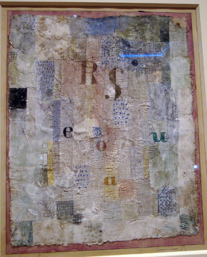 """Vocal Fabric of the Singer Rosa Silber"" by Klee"