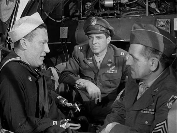 Harold Russell, Dana Andrews and Frederic March