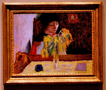 """Woman with Mimosa"""