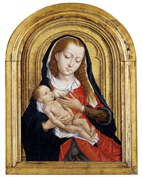Virgin and Child, Master of the Legend of Saint Ursula