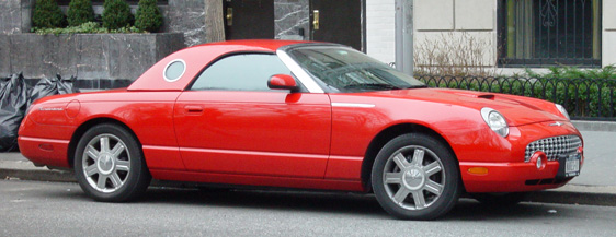 Passion a pedestrians love of cars thunderbird circa 2005 sciox Image collections