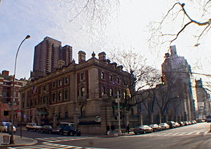 Former Andrew Carnegie mansion on Fifth Avenue at 91st Street