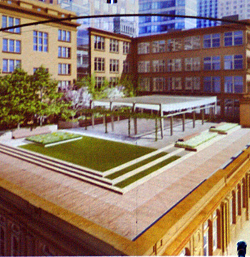 Proposed roof garden