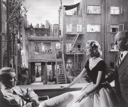 "Publicity still from ""Rear Window"""