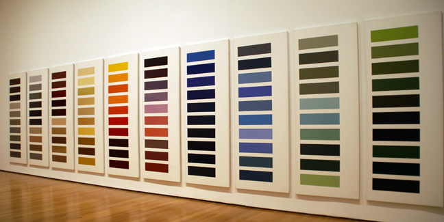 """Ten Large Color Panels"" by Richter"
