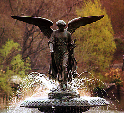"""Angel of the Waters"" fountain"