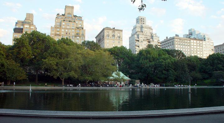 Sailboat pond near Fifth Avenue at 74th Street