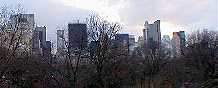 View from 67th Street in Central Park