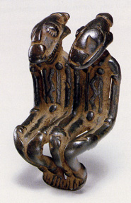 Couple, pendant, Djenne Civilization