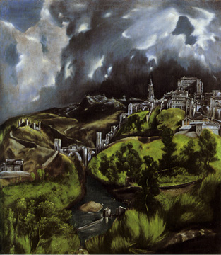 """A View of Toledo"" by El Greco"