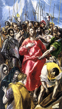 """The Disrobing of Christ ('El Espolio')"" by El Greco"
