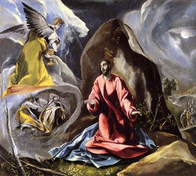 """The Agony in the Garden"" by El Greco"