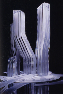 Signature Towers Business Bay, Dubai, Zaha Hadid