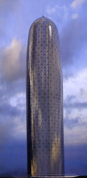 Doha High Rise Office Building by Nouvel