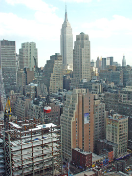 View from West 42nd Street