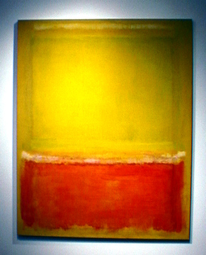 """Untitled (White, Yellow, Red on Yellow"" by Mark Rothko"