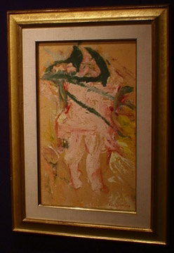 """Paper Tigress"" by Willem de Kooning"