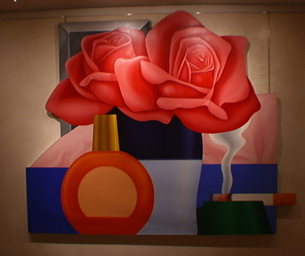 Still-life painting by Tom Wesselmann