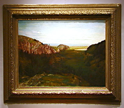 """The Last Valley - Paradise Rocks"" by John La Farge"