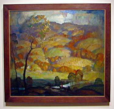 """Chadds Ford Hills"" by N.C. Wyeth"