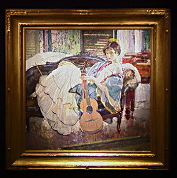 """String Artist"" by Richard Miller"