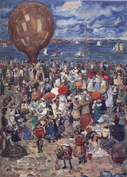 """The Balloon"" by Maurice Prendergast"