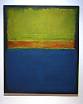 """No. 2 (Blue, Red and Green)"" by Mark Rothko"