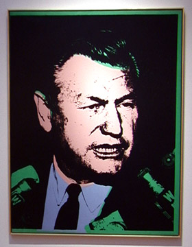Nelson Rockefeller by Andy Warhol