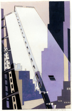 """Convergence II"" by Charles Sheeler"