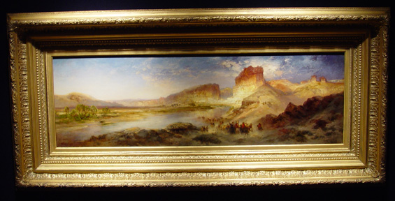 """Green River, Wyoming,"" by Thomas Moran"