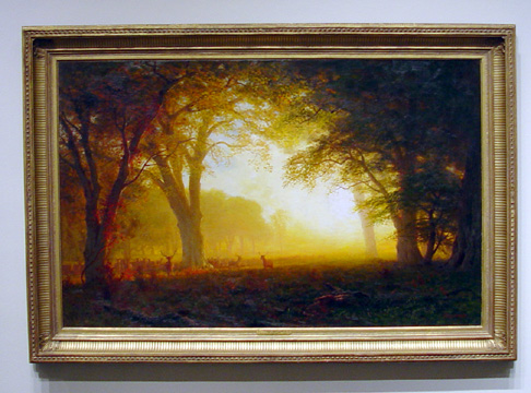 """Golden Light of California"" by Bierstadt"