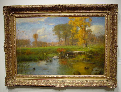 """Spirit of Autumn"" by George Inness"